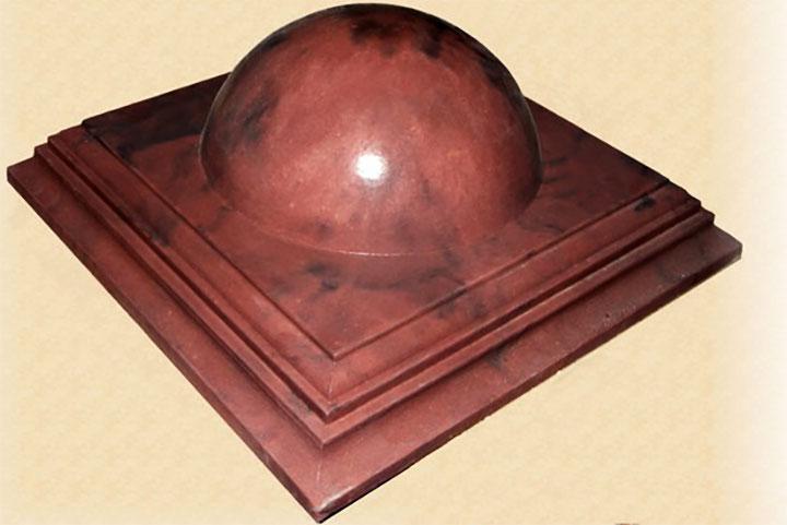 Форма для изготовления бетонного навершия