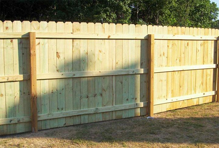 Сплошной, вертикальный забор