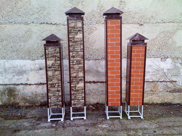 Готовые столбы для забора