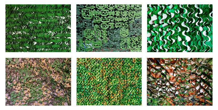 Образцы камуфляжной сетки