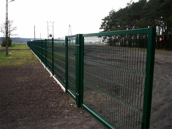 Забор из евросетки