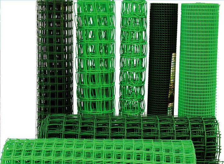 Ассортимент пластиковой сетки