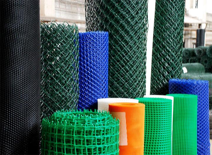 Разнообразие сетки из пластика