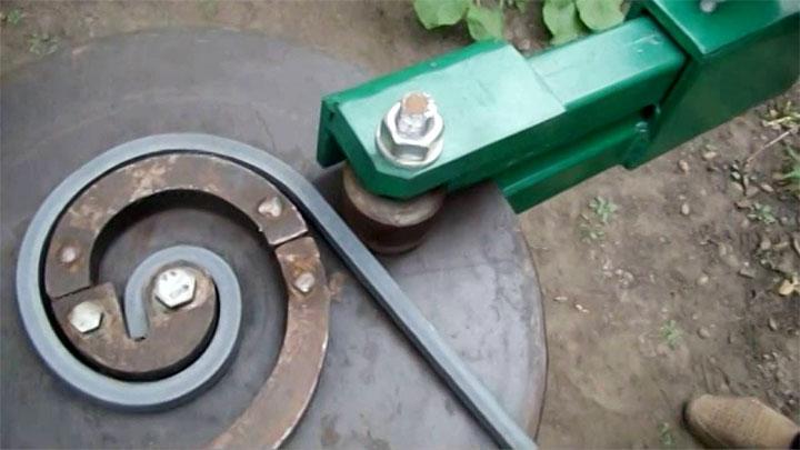 Изготовление элемента ковки