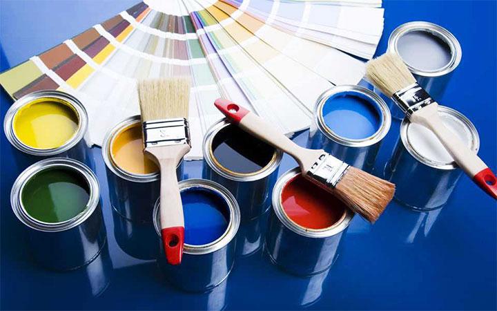 Палитра цветов акриловых красок по металлу
