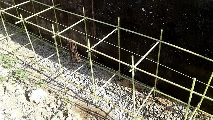 Армированная конструкция для фундамента