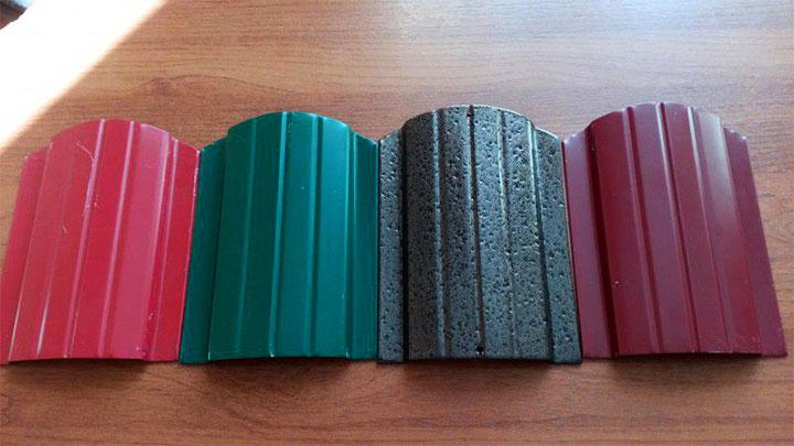 Образцы металлического штакетника