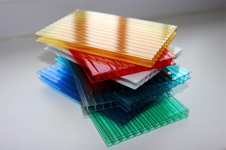Поликарбонат разного цвета