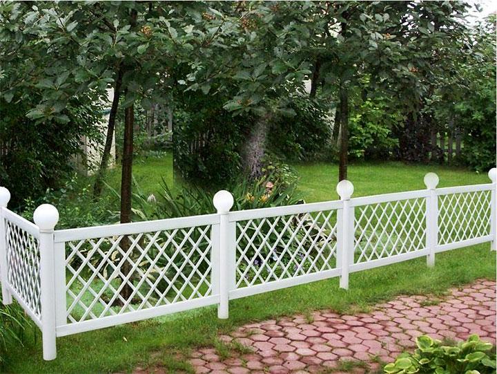 Декоративная садовая ограда