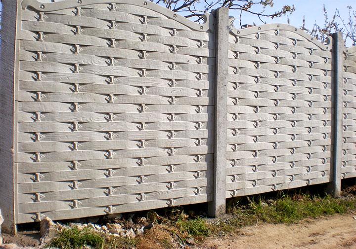 Заборы виды из бетона цена керамзитобетон нижний новгород