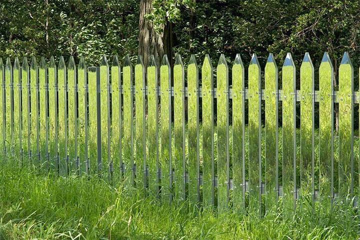 Ограда из оргстекла