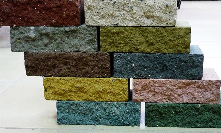 Образцы декоративного наборного блока