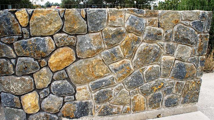 Кладка дикого камня