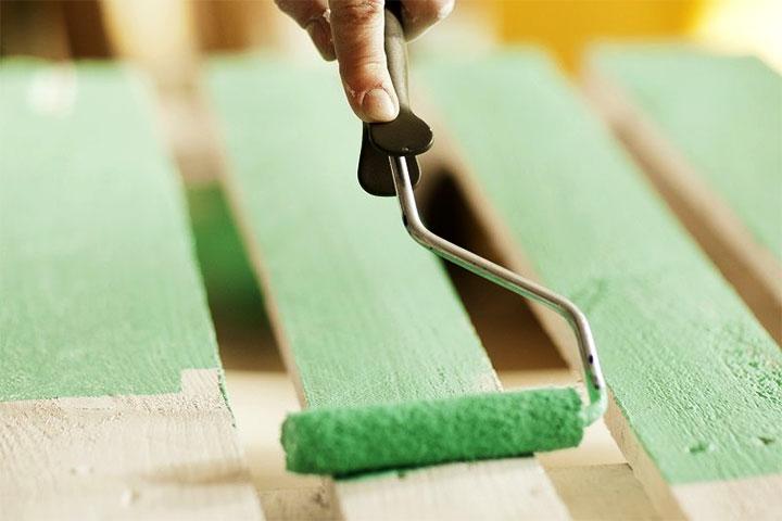 Окрашивание древесины