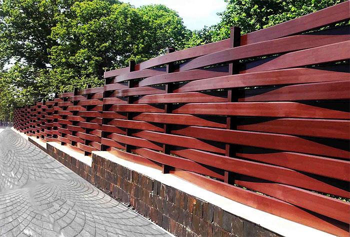 Забор – плетенка