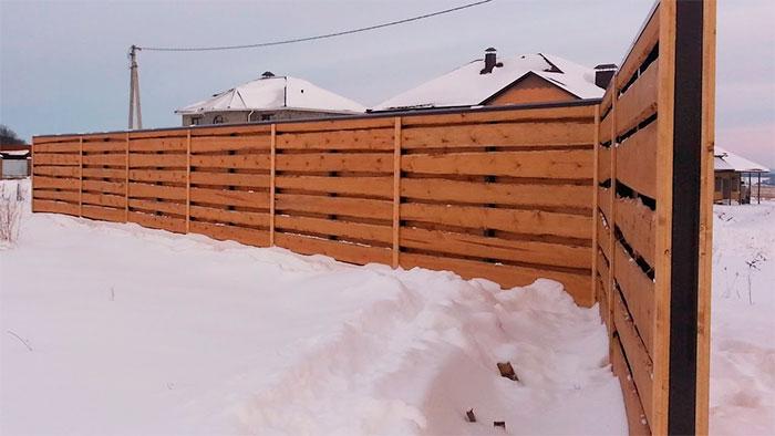 Виды деревянных заборов – как создать красивую и надежную конструкцию