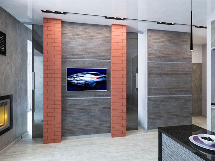 Использование ПИКС - панелей для отделки внутри помещения
