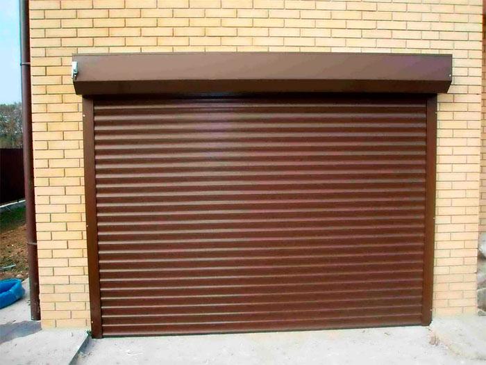 Рулонный тип гаражных ворот