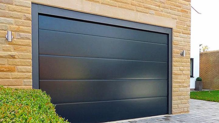 Современные ворота для гаража