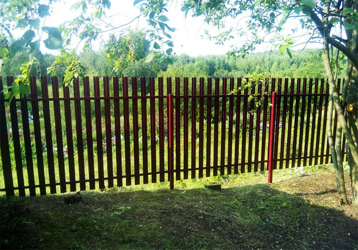 Ограда для сада