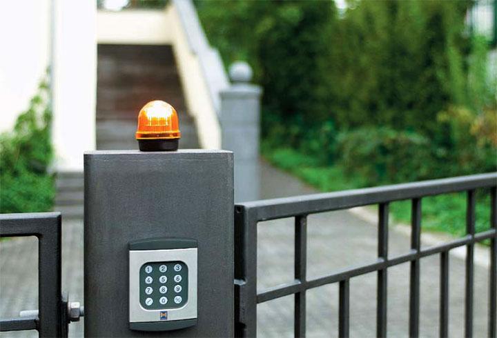 Сигнальная лампа автоматических ворот