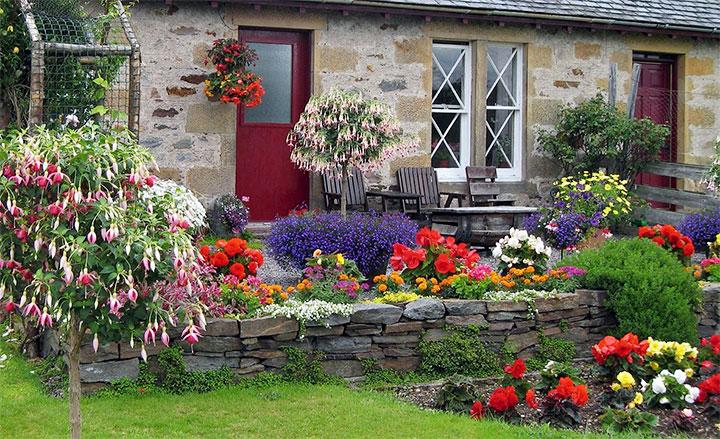 Палисадник перед домом